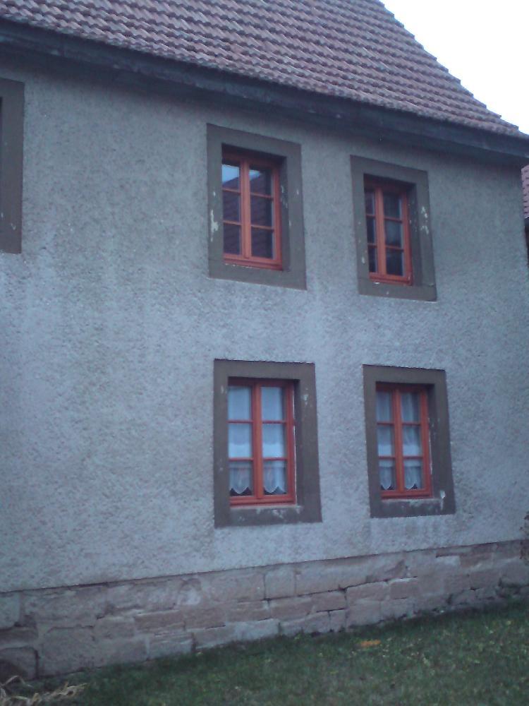 Kalbitz / Bad Bibra Wohnhaus neue Holzfenster, zwei Flügel,  mit Sprossen