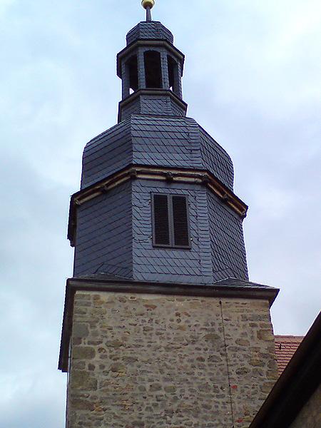 Hauteroda Kirche Schallläden